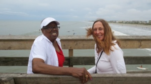 Me and The Librarian - Cocoa Beach, May 2014