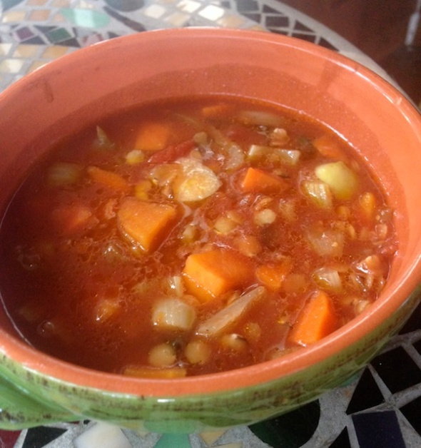 Lentil and Tomato Soup For Breast Cancer