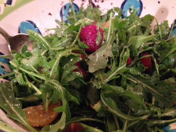 Arugula Salad with Citrus Dressing